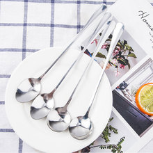 цена на 1Pcs Metal Stainless Steel Kitchen Supplies Coffee Scoop With Clip Tea Coffee Measuring Cup Coffee Scoop Spoon Silver Color