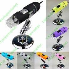 Big sale 500X Practical New colorful 2MP USB 8-LED Digital Microscope Endoscope Magnifier 500X Camera