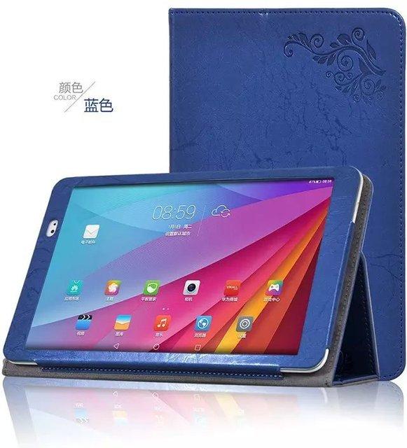 Stand case cubierta de cuero del tirón para huawei mediapad t1 10 tablet case para huawei t1-a21w t1-a21l funda + protector de pantalla + stylus