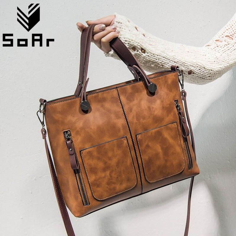 여성 가방 디자이너 포켓 고품질 핸드백 럭셔리 브랜드 크로스 바디 메신저 숄더 백 지퍼 Bolsa Feminina Vintage