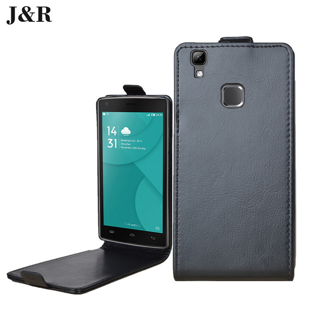 for doogee x5 max case high quality pu leather cover flip vertical