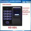 Digital Elétrica Dedo Leitor De RFID Sistema de Controle de Acesso Biométrico de impressões digitais Scanner de Código para Fechadura Da Porta Sistema de Segurança Em Casa