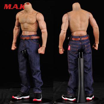 1 6 męskie klasyczne dżinsy Denim spodnie męskie nadające się do 12 #8221 muskularne ciało 1 6 figurka akcesoria tanie i dobre opinie SL1095 Model Wyroby gotowe Żołnierz zestaw Żołnierz gotowy produkt Pierwsze wydanie Unisex 3 lat Not for real stuff