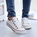 2016 весенние ботинки холстины женщин Корейский студент приток черно-белые туфли, повседневная обувь, плоские обувь, чтобы помочь низкой