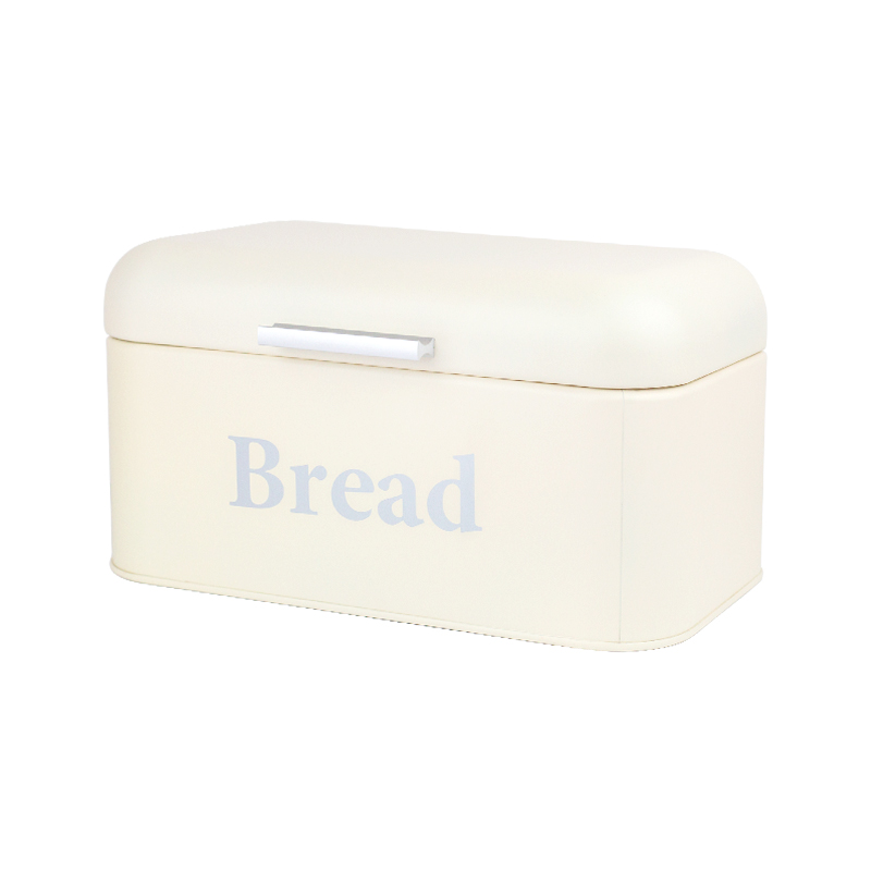 1Pcs Bread Storage Box Square Lovely Jar Iron Candy Box Tin Wedding Candy Box Storage Snack