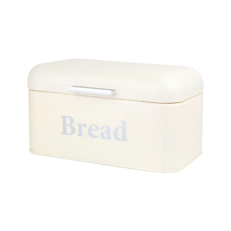 1Pcs Bread Storage Box Square Lovely Jar Iron Candy Box Tin Wedding Candy Box Storage Snack