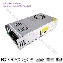 350 Вт 12 В 29A S-350-12 AC/DC Переключение Стандартный LED/3d принтер Питания CE RoHS аутентификации бесплатная Доставка