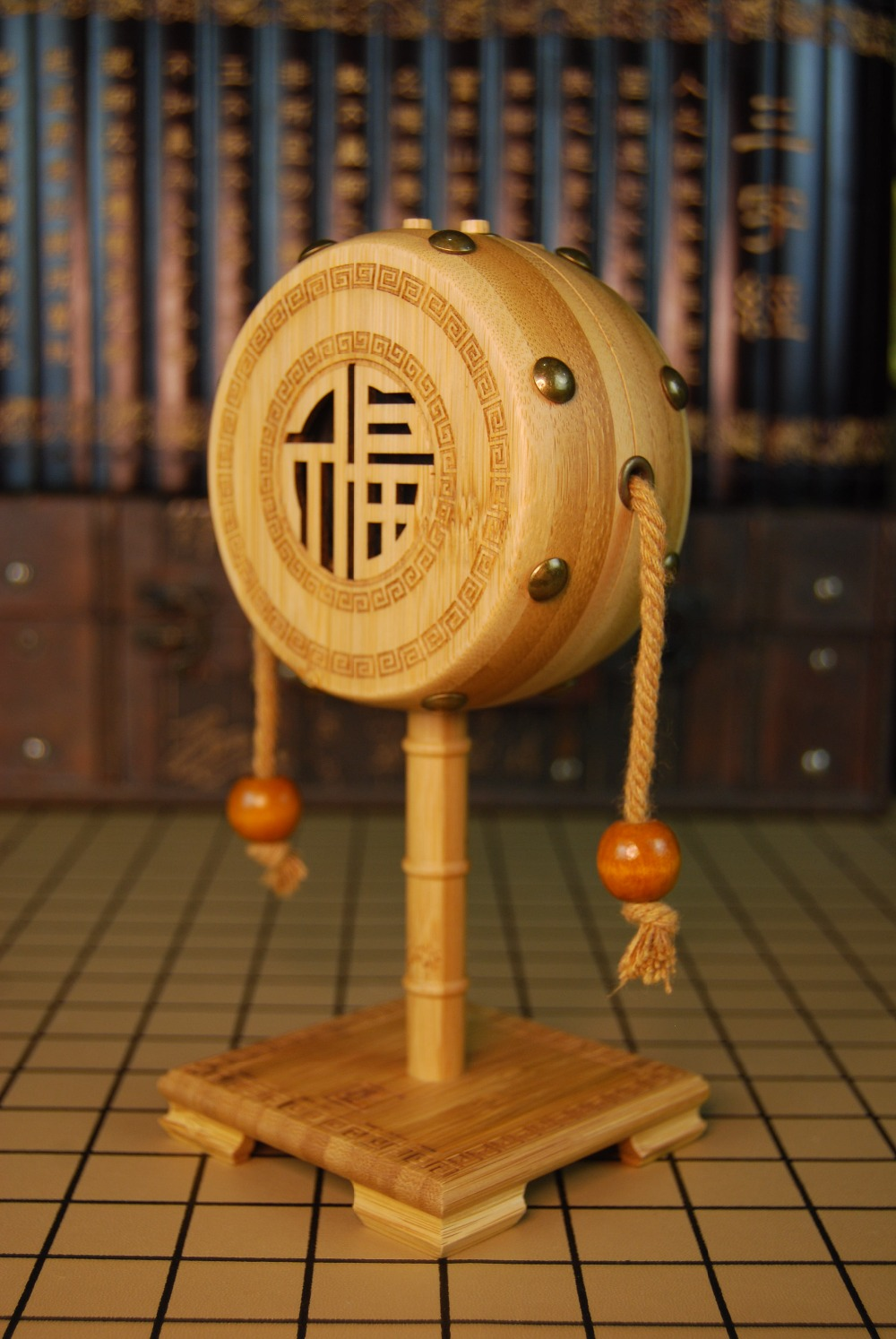 Bamboo speaker bluetooth portable stereo version, speaker maximum power 5W watt, bluetooth player, handmade crafts.