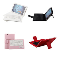 Russian Hebrew Spanish Detachable Wireless Bluetooth Keyboard Stand PU Leather Cover Case For Huawei MediaPad M3
