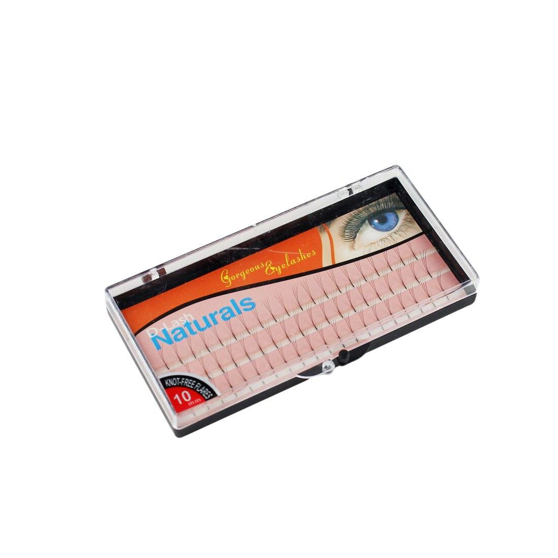 Best Sale 60 Natural Long Black Individual False Eyelashes Eye Lash Extension Kit Soft 12mm 10mm 8mm Selection