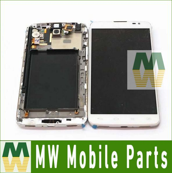 82.5USD/PC LCD Display With Touch Screen + Frame Assembly For LG G Pro Lite D685 D686 5PCS /Lot Free DHL EMS