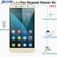 10pcs lot Tempered Glass For Huawei Honor 4X honor4X CHE-TL00 Che2 Screen protective 5.5 inch cover smartphone toughened case 9H