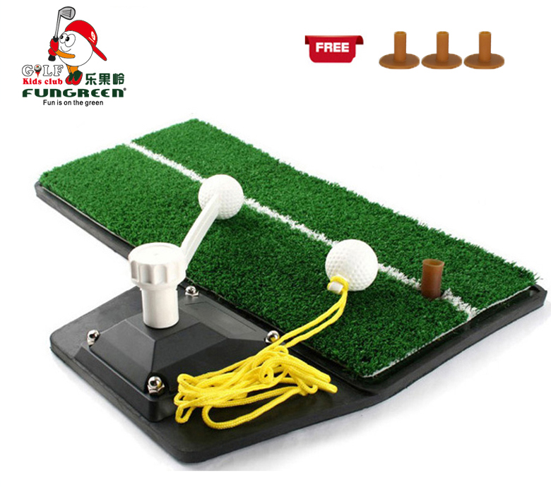 Mini Golf Swing Mat Indoor Funny Practice Golf Swing Training Aids Protable Golf Hitting Mat for Golf Beginner With Free Gift armband for iphone 6