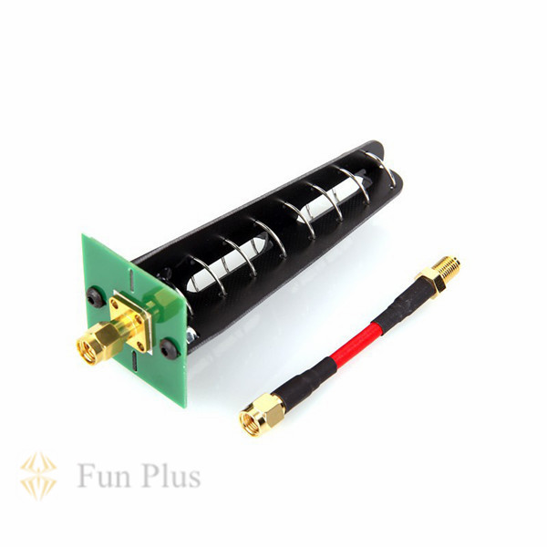 FPV 12dbi 5.8G Helical Antenna Right Circular Polarization SMA RP-SMA Plug Connector rp sma female to y type 2x ip 9 ms156 male splitter combiner cable pigtail rg316 one sma point 2 ms156 connector for lte yota