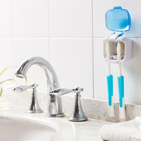 New Portable UV Toothbrush Sterilizer Box Couples Wall Toothbrush Holder Bathroom Accessories