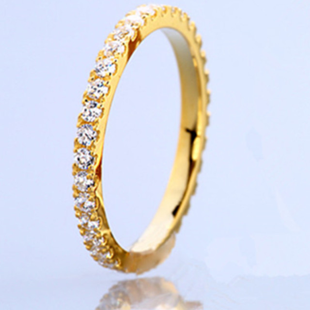 yellow diamond and tone wedding two gold in white antique carat ring band bands