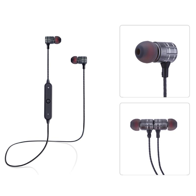 Fashion Wireless Bluetooth 4.2 Stereo Binaural Earphone Sports Headphone for Iphone Android Smart Phone With Microphone Headset