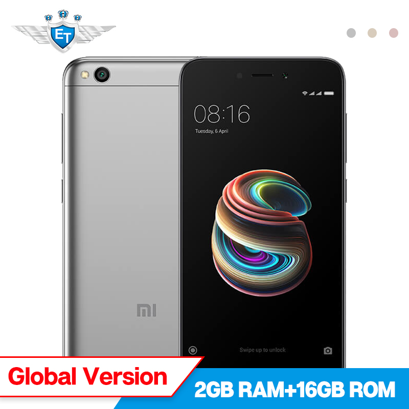 Global Version Xiaomi Redmi 5A 5 A 2GB RAM 16GB ROM