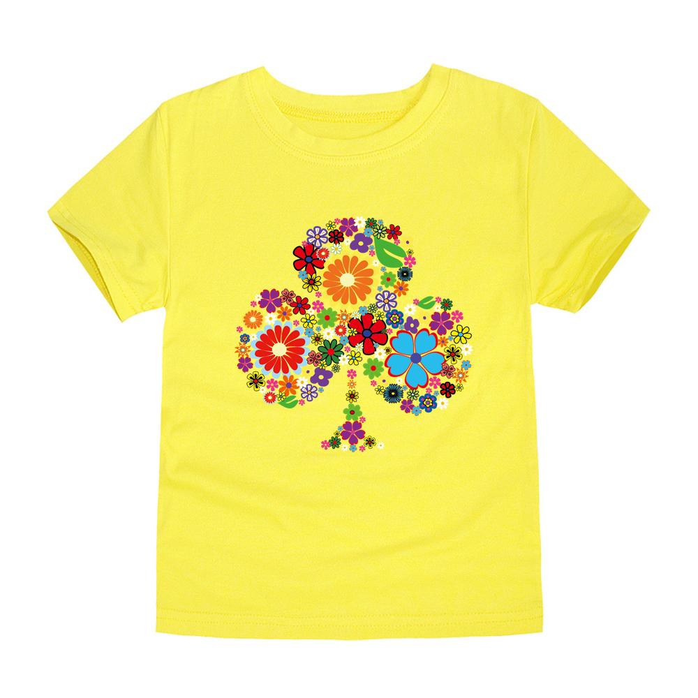 HTB1kM.oRFXXXXb6XXXXq6xXFXXXv - TINOLULING 2018 Summer Kids Flower Tree T-Shirt Boys Girls Tree T Shirt Children Tops Baby Tees For 2-14 Years