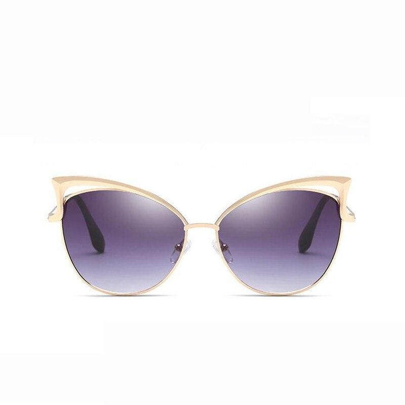 0863a102e Luxury Cat Eye Óculos De Sol Das Mulheres Designer de Marca Retro Vintage  Óculos De Sol Espelho óculos de Sol Piloto Óculos de Sol Para As Mulheres  Da ...