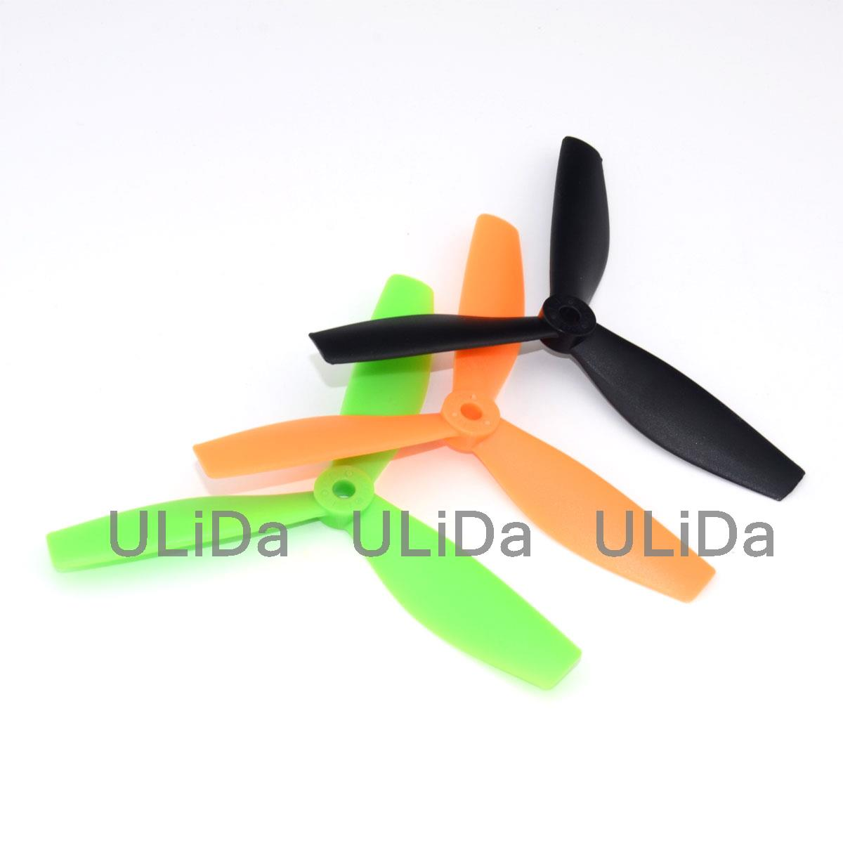 2Pairs/4Pcs 3 Blade 5045 Bullnose Propeller Prop CW CCW for DIY RC FPV Racing Quadcopter 4 pairs of high performance 5030 5x3 3 blade prop cw ccw nylon propeller for rc 250 f330 quadcopter yellow