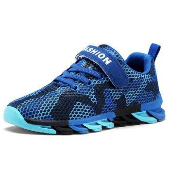 c41acd187 Детская обувь для мальчиков; Новинка 2019 года; Детские кроссовки ...