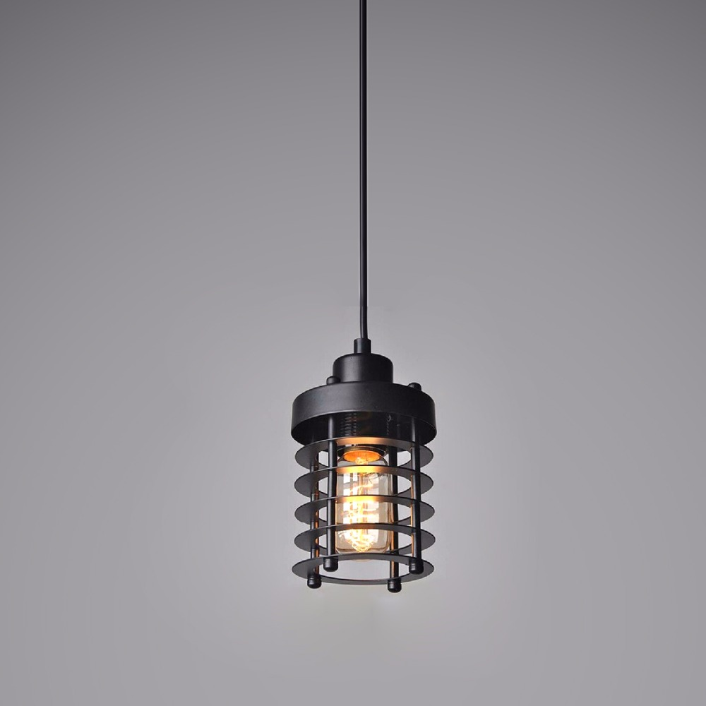 ФОТО Free Shipping Retro Edison Bulb Pendant Lighting 1 Light Suspension Lamps for Dinning Room Living Room Loft Vintage Led Lights