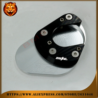 Motorcycle Foot Side Kickstand Pad Stand Extension Support Plate For KTM 390 200 125 DUKE 2012