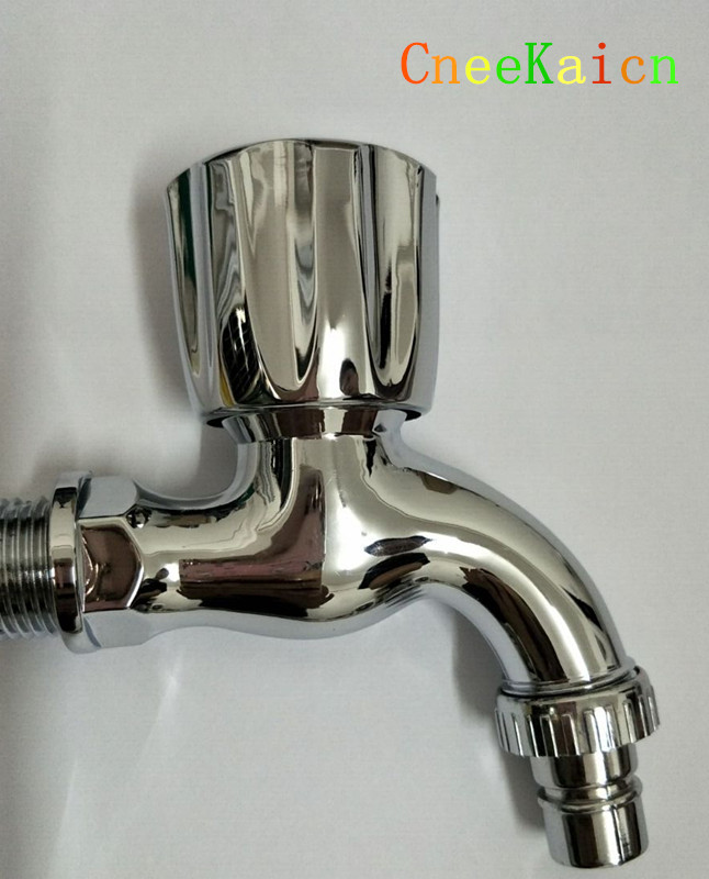 high quality ABS chrome color decorative outdoor faucet easy ...