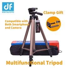 DIGITALFOTO WT3130A Mini Tripod smartphone Camcorder camera tripod stand for iphone X Panasonic Canon Nikon Sony