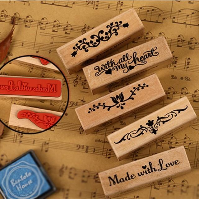 Handmade Rubber Stamp for hobbies, handmade crafts and Art