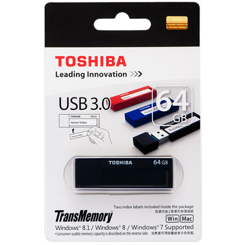 TOSHIBA USB Flash Drive 64GB 3.0 High Speed U Disk USB 3.0 32GB 16G flash disk quality Memory Stick 64GB Pen Drive ourspop p5 usb 2 0 flash driver disk black white 64gb