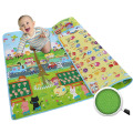 Baby Kids Children's Learning Math Two-sided Crawling Pad Beach Picnic Mat Outdoor Blanket Dampproof