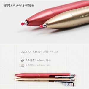 Image 4 - Zebra Sarasa Grand Gel Pen 0,4mm 0,5mm Japón JJ55 JJS55, bolígrafo de Metal