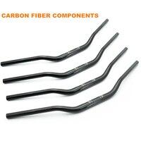 Motorcycle modified carbon fiber handlebar 28mm 600/300 variable diameter handlebar BWS MSX125 faucet