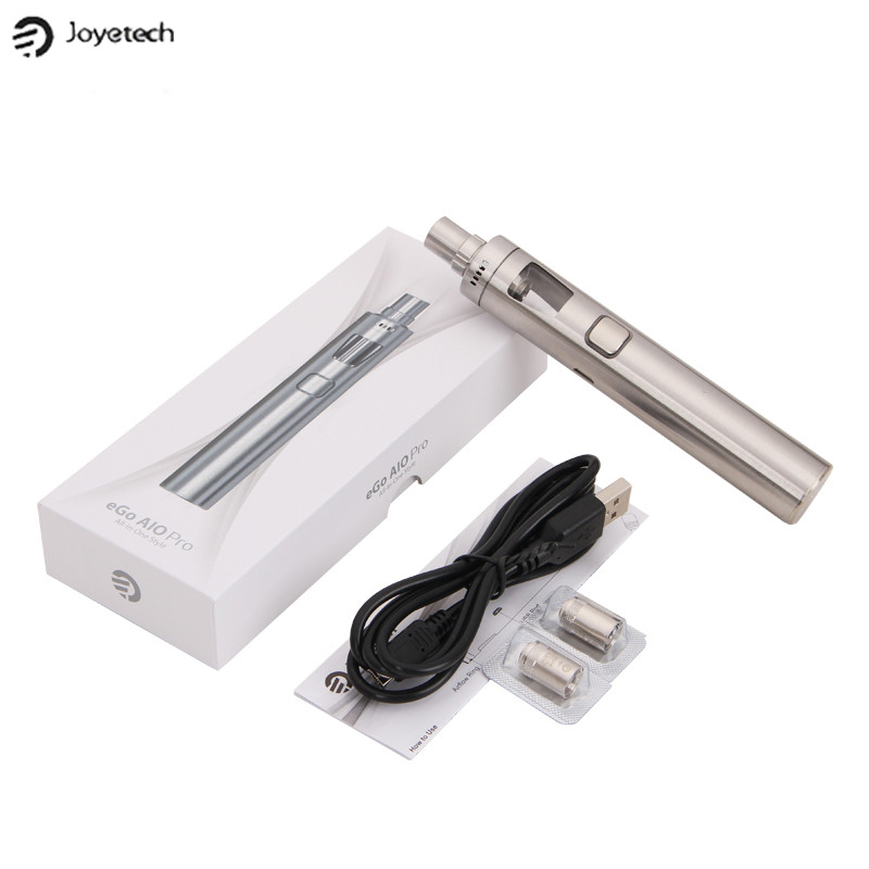 100% Original Joyetech eGo AIO Pro /C /D22 XL All-in-One Starter Kit with 3.5ml 4ML and 2300mah Capacity original 30w joyetech ego mega twist kit with cubis pro atomizer 4ml tank capacity and 2300mah battery capacity