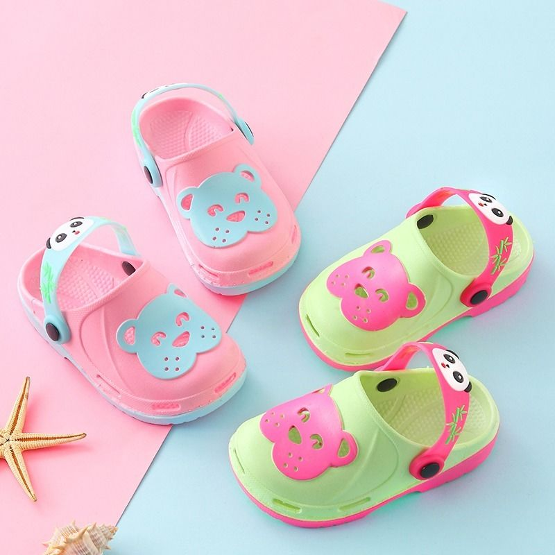 Children Beach Slippers Kids Boys Cute Cartoon Fashion Toddler Girls Waterproof Slipper Sandals Outdoor