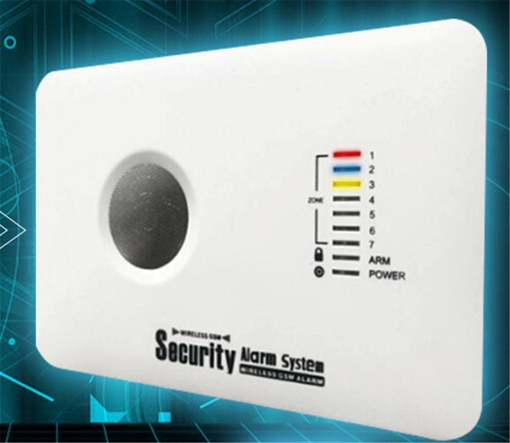 APP Mobile Remote Control  GSM Burglar Alarm System