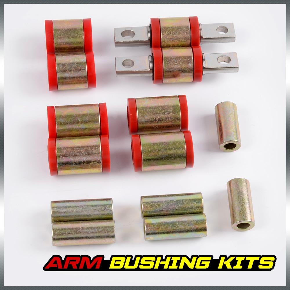 NEW Polyurethane Rear Upper Lower Control Arm Bushing Kits For Honda Civic 96-00 ...