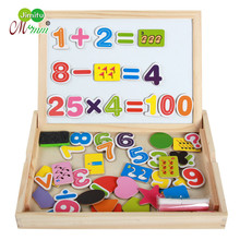 Wooden Magnetic Puzzle Toys Children 3D Figure Learning toys for children