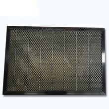 Высокое качество мед гребень стол для машина для лазерной гравировки и резки мед гребень 200x300 мм CO2 лазерный гравер резка стальная сетка
