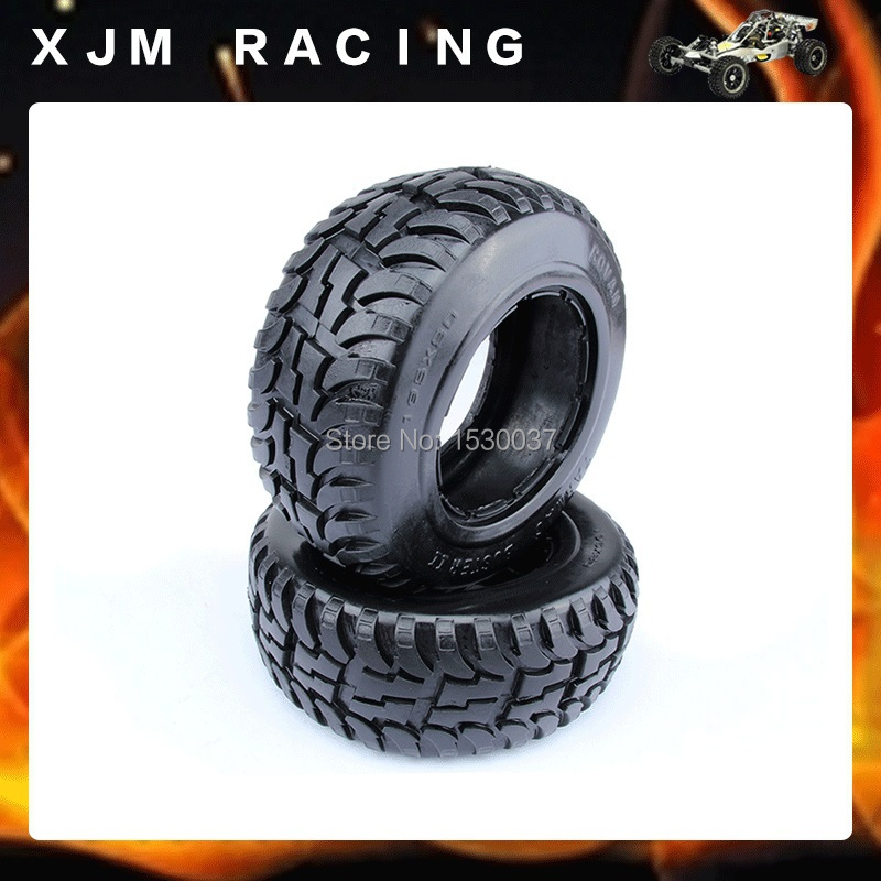 Rear highway Tire (x 2 pcs/Set) fit hpi rovan Baja 5T/ 5SC front knobby tire x 2pcs set fit hpi rovan mcd baja 5t 5sc free shipping