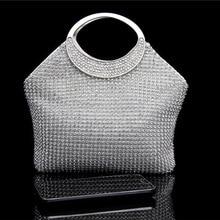 ONEFULL evening handbag women handmade simulated diamond bag brand nihgt clube party