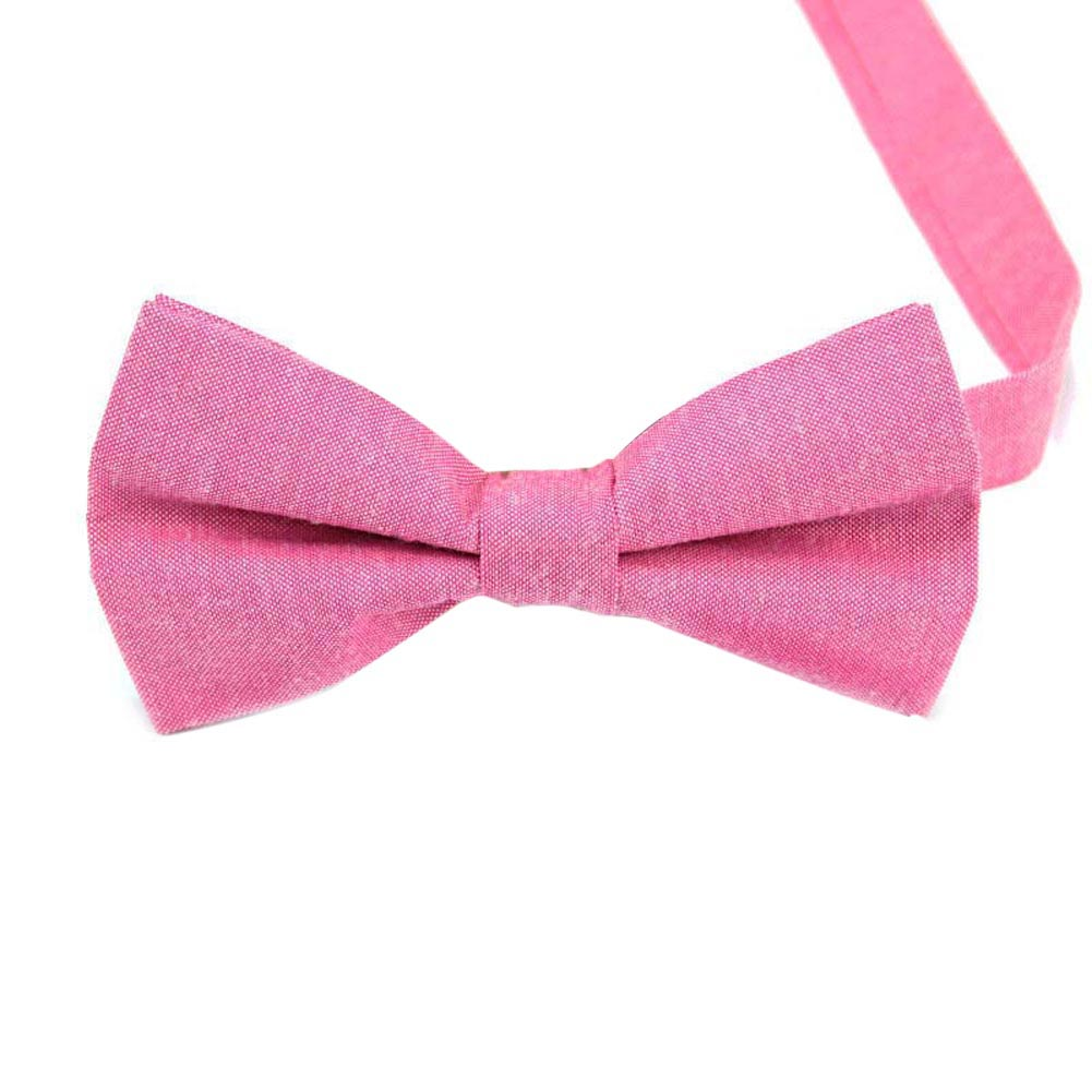 Men Groom Bow Tie Necktie Solid Color Casual Fashion For Wedding Party Suit Best Man -MX8