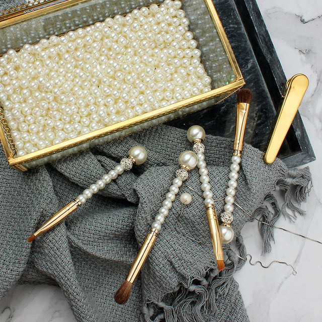 Gold Silver Detail Ombre Lip liner Makeup Brush Pen Pearl Crystal Diamond Cosmetics Lip gloss Lipstick Matte Lip Make up Brushes