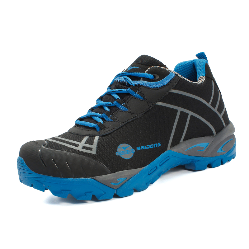 b73095f603 Top Men s hiking shoes outdoor climbing Zapatos men mountain trekking shoe  waterproof mountaineering trek sport shoes non slip-in Hiking Shoes from  Sports ...