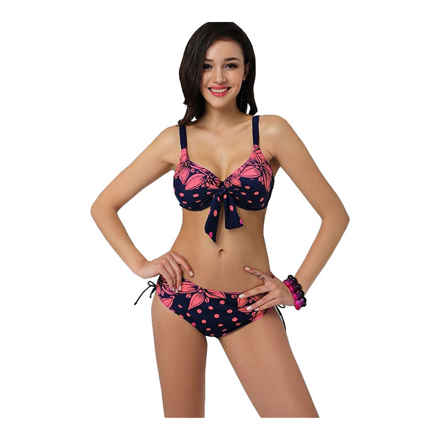 71639fce0df93 TRIKINI Bikinis Bathing Suit Push up Large Cup Bikini set Women Swimwear  Sexy Swimsuit Brand Plus size