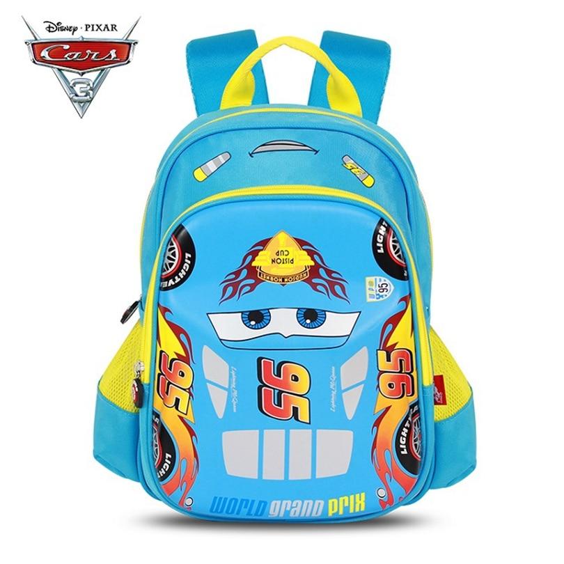 f374abf5ae260 Disney McQueen Cars Children Backpack High Quality School Bag for Boys  Girls Cartoon Schoolbag Ultralight Kids Satchel Preschool