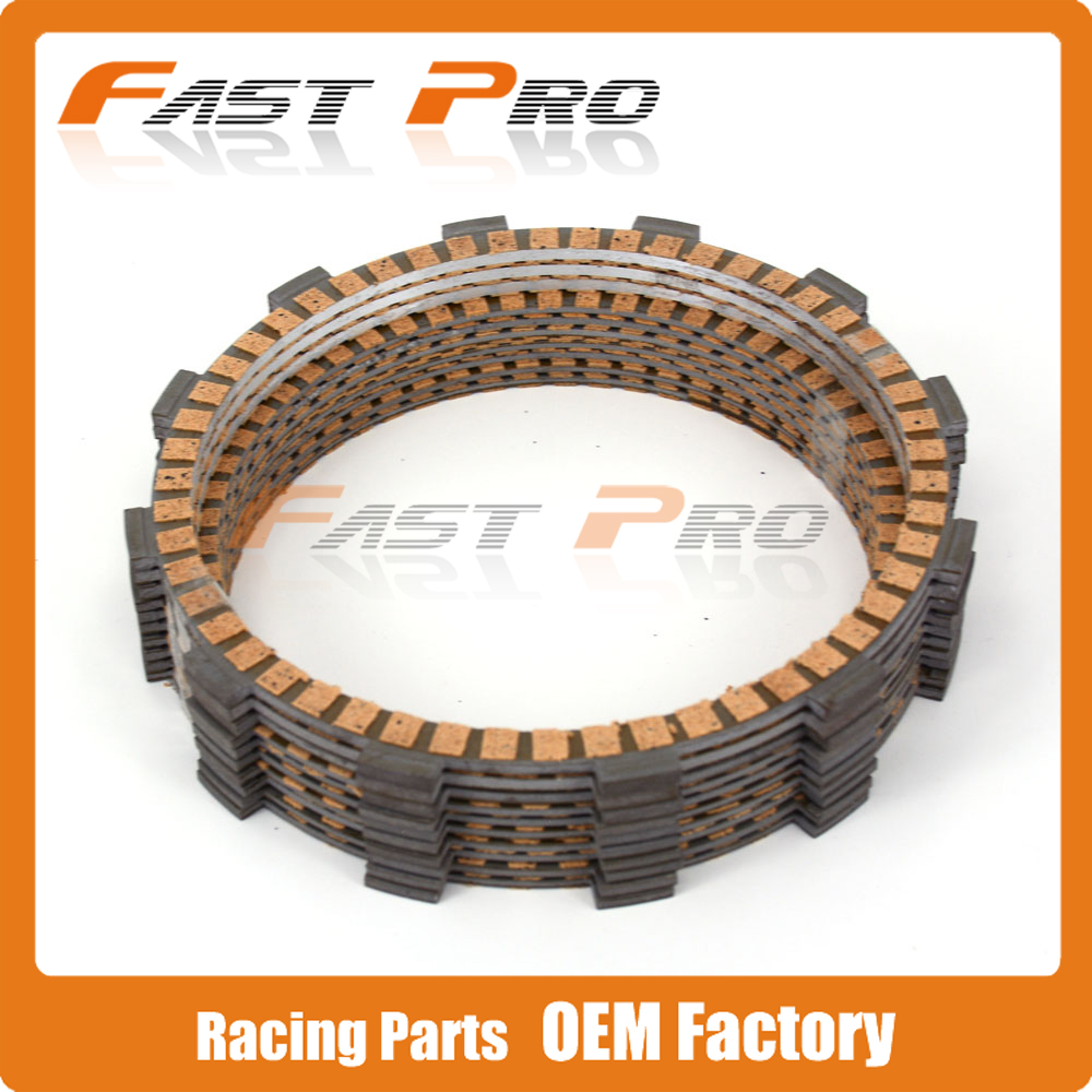 Clutch Disc Friction Plates Set 10pcs for KTM RC8 1190R 2013-2016 13 14 15 16 SUPER DUKE R 2014-2016 14 15 16