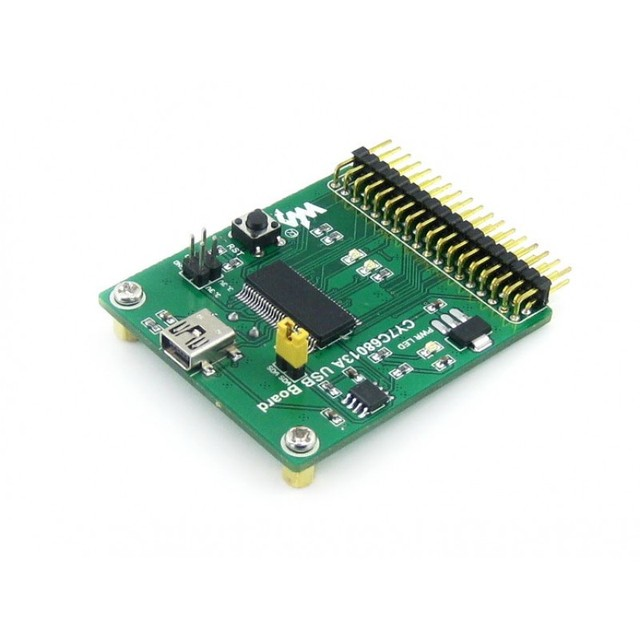 CY7C68013A USB Board (mini) High Speed USB Module with Embedded 8051 Core USB Mini-AB Connector Development Board Kit